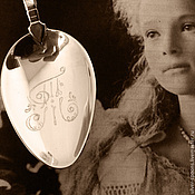 Сувениры и подарки handmade. Livemaster - original item Silver spoon