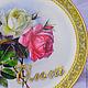 Декоративная посуда ручной работы. Заказать Тарелка декоративная Винтажные розы 2 (декупаж). Tatiana (missmarple). Ярмарка Мастеров. тарелочка