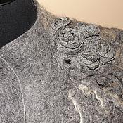"""Одежда ручной работы. Ярмарка Мастеров - ручная работа Жакет валяный """"Имя Розы"""". Handmade."""