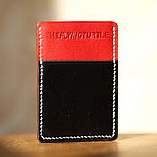 Сумки и аксессуары handmade. Livemaster - original item The image-made of Horween leather ( card case ). Handmade.