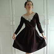 Одежда ручной работы. Ярмарка Мастеров - ручная работа Элегантное черное платье. Handmade.