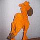 """Обучающие материалы ручной работы. Мастер-класс """"Оранжевый вербюлюд"""". Iriss. Вязаные фантазии. Ярмарка Мастеров. Интерьерная игрушка, проволока"""