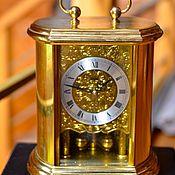 Винтаж ручной работы. Ярмарка Мастеров - ручная работа Часы знаменитой компании Hermle из латуни с маятником. Германия. Handmade.