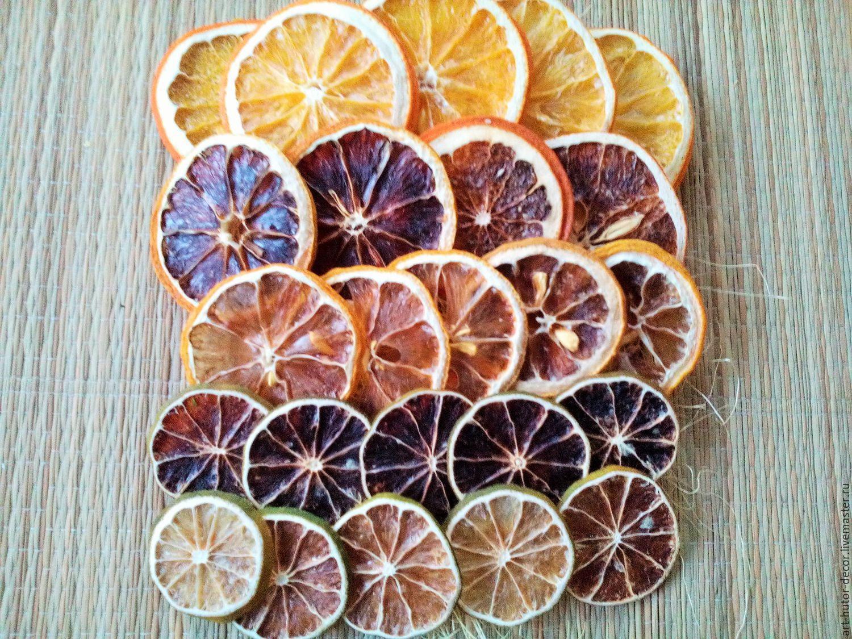 Сушеные лимоны для декора