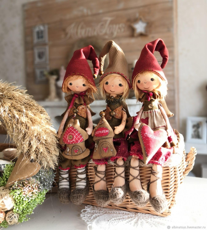 The house dwarf.Textile attic doll. Guardian. Doll, Rag Doll, Kazan,  Фото №1
