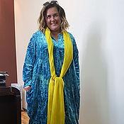 Одежда ручной работы. Ярмарка Мастеров - ручная работа Платье пальто стильное. Модель 1. Handmade.