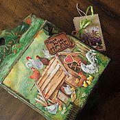 """Для дома и интерьера ручной работы. Ярмарка Мастеров - ручная работа Ключница """" Home! Sweet home!"""". Handmade."""