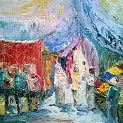 Картины и панно ручной работы. Ярмарка Мастеров - ручная работа Восточный рынок. Handmade.