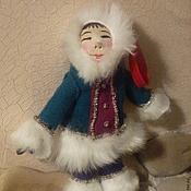 Куклы и игрушки ручной работы. Ярмарка Мастеров - ручная работа Северная девочка. Handmade.