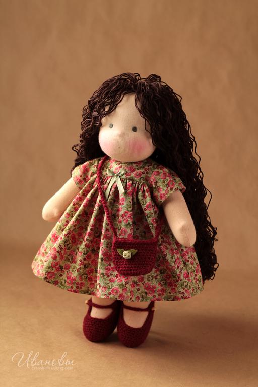 Вальдорфская игрушка ручной работы. Ярмарка Мастеров - ручная работа. Купить Вальдорфская кукла. Handmade. Вальдорфская кукла, кукла для девочки