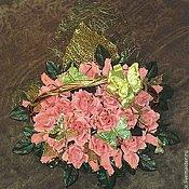 """Подарки к праздникам ручной работы. Ярмарка Мастеров - ручная работа букет из конфет """"Коралловый остров"""". Handmade."""