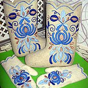Обувь ручной работы handmade. Livemaster - original item Boots with mittens. Handmade.