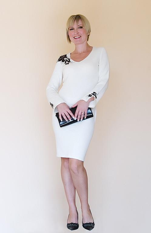Платья ручной работы. Ярмарка Мастеров - ручная работа. Купить Платье вязаное 4317. Handmade. Платье, платье авторское, трикотаж