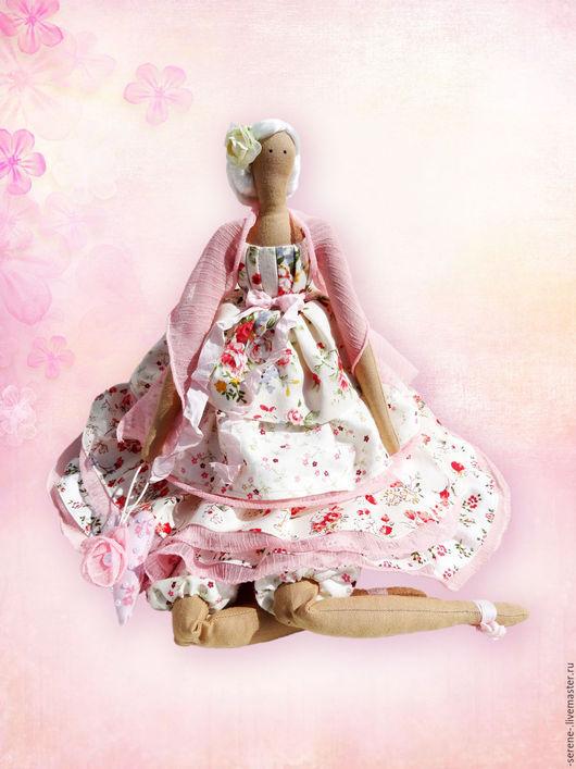 Куклы Тильды ручной работы. Ярмарка Мастеров - ручная работа. Купить Кукла Розали - фея розового сада. Handmade.