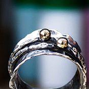 """Кольца ручной работы. Ярмарка Мастеров - ручная работа Серебряное кольцо ручной работы """"Антистресс"""", размер по запросу. Handmade."""