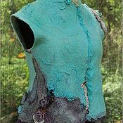 Одежда ручной работы. Ярмарка Мастеров - ручная работа Жилет,, Дорогами эльфов,,. Handmade.