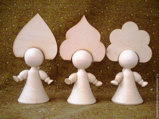 Декупаж и роспись ручной работы. Ярмарка Мастеров - ручная работа. Купить Кукла Маша. Handmade. Куколка, кукла в кокошнике
