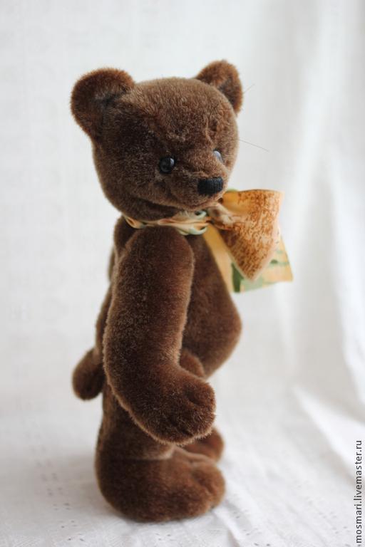 Мишки Тедди ручной работы. Ярмарка Мастеров - ручная работа. Купить Бориска-ириска (27 см). Handmade. Мишка