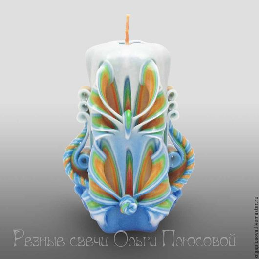Персональные подарки ручной работы. Ярмарка Мастеров - ручная работа. Купить Резные свечи с розетками. Handmade. Резные свечи