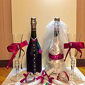 Подарки к праздникам ручной работы. Ярмарка Мастеров - ручная работа Свадебный набор. Handmade.