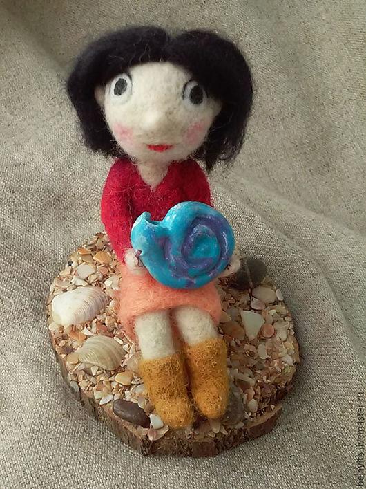 Коллекционные куклы ручной работы. Ярмарка Мастеров - ручная работа. Купить Моя маленькая Сирша. Handmade. Комбинированный, песнь моря