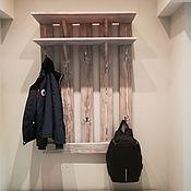 Вешалки ручной работы. Ярмарка Мастеров - ручная работа Настенная вешалка для одежды. Handmade.