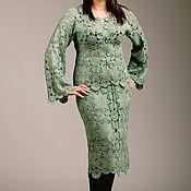 """Одежда ручной работы. Ярмарка Мастеров - ручная работа Вязанный костюм """"Элегантность"""". Handmade."""