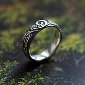 Украшения handmade. Livemaster - original item Silver ring with tsavorite