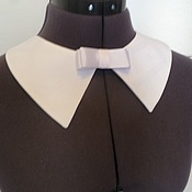 Аксессуары handmade. Livemaster - original item The universal collar cotton white. Handmade.