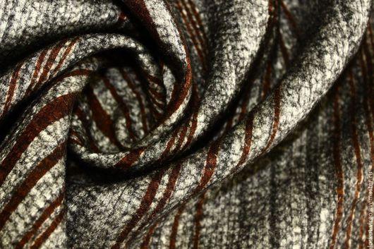 Шитье ручной работы. Ярмарка Мастеров - ручная работа. Купить Пальтово-костюмная двусторонняя ткань, 1350руб-м. Handmade.