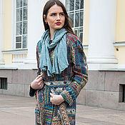 """Одежда ручной работы. Ярмарка Мастеров - ручная работа валяное  пальто """" patchwork"""". Handmade."""