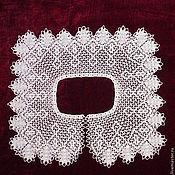 Collars handmade. Livemaster - original item Lace collar No. №21. Handmade.