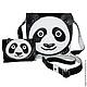 """Женские сумки ручной работы. Ярмарка Мастеров - ручная работа. Купить сумка из натуральной кожи ручной работы """" Панда"""". Handmade."""