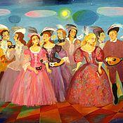 Картины и панно ручной работы. Ярмарка Мастеров - ручная работа Концерт. Handmade.