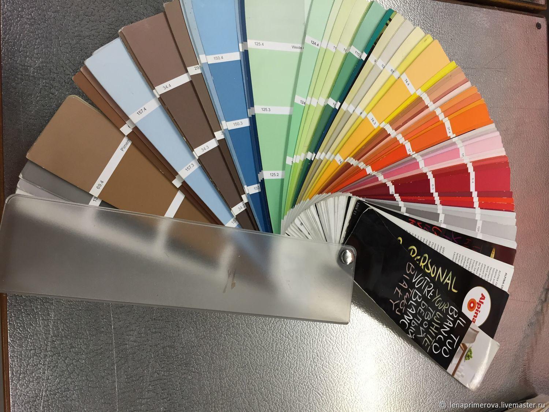 Выбор цвета при тонировании фото
