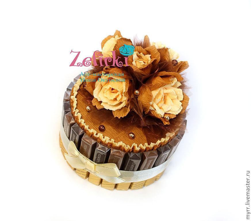 ремонте шоколадный торт из конфет ещё:медосмотр парней