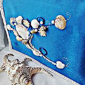"""Свадебный салон ручной работы. Ярмарка Мастеров - ручная работа Сундук для денег""""Морской бриз"""". Handmade."""