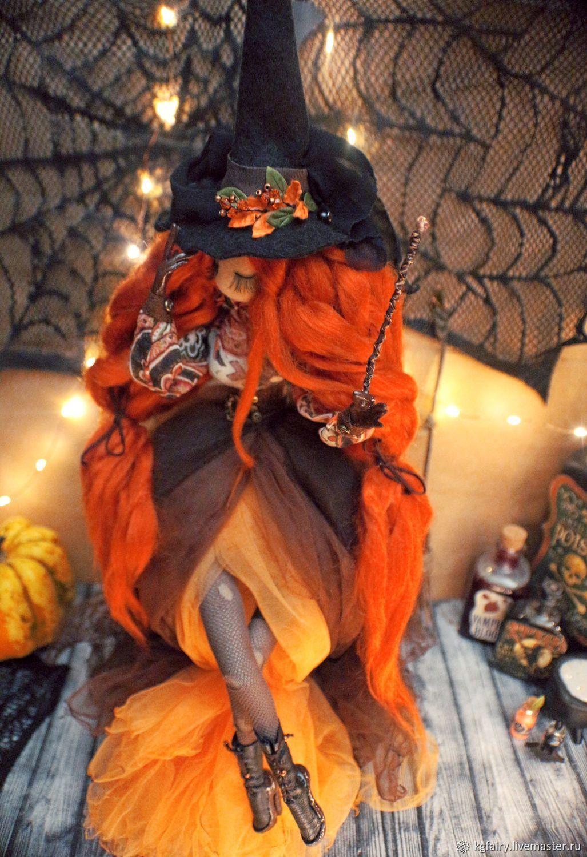 Авторская кукла. Ведьма, Куклы и пупсы, Москва,  Фото №1