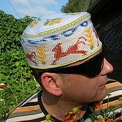 """Одежда ручной работы. Ярмарка Мастеров - ручная работа Летняя шапка  """"Поле"""". Handmade."""