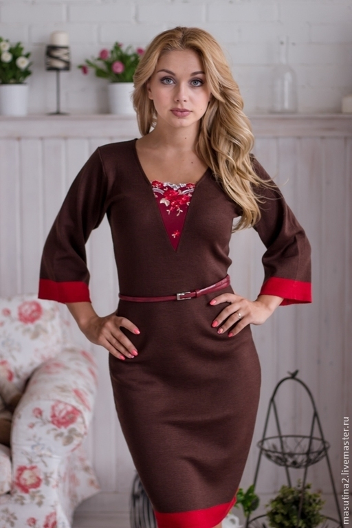 Dress 'Autumn in the city', Dresses, St. Petersburg,  Фото №1