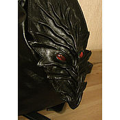 "Сумки и аксессуары handmade. Livemaster - original item Backpack ""Black Dragon"". Handmade."