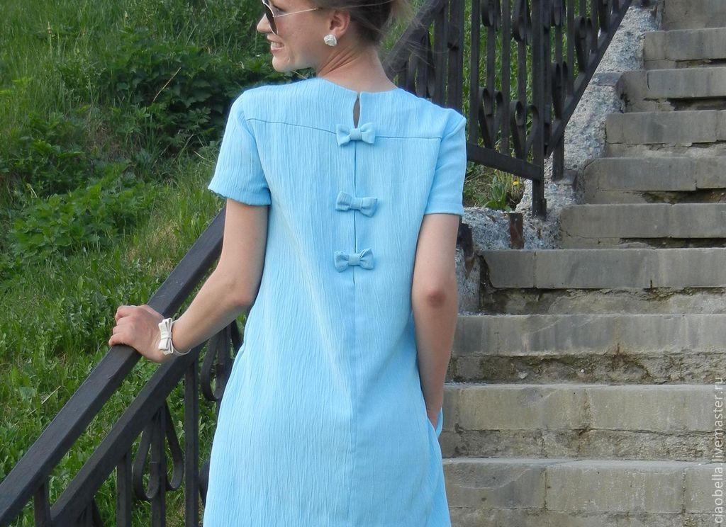 простое платье шифоновое выкройки