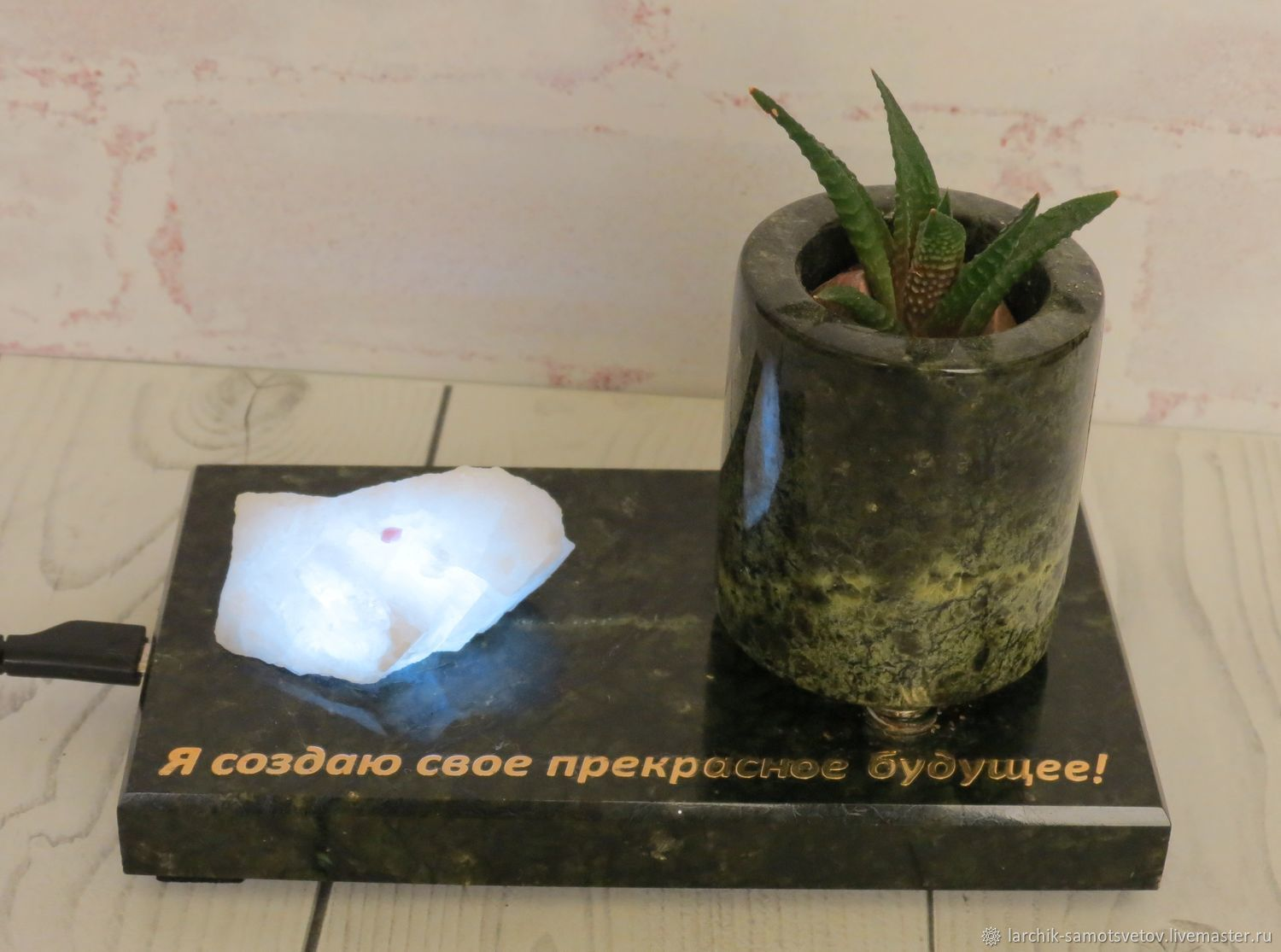 Souvenir with lighting of the coil, Souvenirs with wishes, Izhevsk,  Фото №1