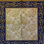 Материалы для творчества ручной работы. Ярмарка Мастеров - ручная работа золотые орнаменты.3 вида.Салфетки для декупажа. Handmade.