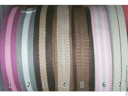 Другие виды рукоделия ручной работы. Ярмарка Мастеров - ручная работа. Купить Ременная лента полосатая. Handmade. Ременная лента