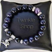 Украшения handmade. Livemaster - original item A fabulous bracelet of blue aventurine. Handmade.