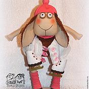 Куклы и игрушки ручной работы. Ярмарка Мастеров - ручная работа спешу на каток. Handmade.