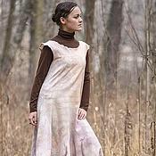 """Одежда ручной работы. Ярмарка Мастеров - ручная работа Платье """"Шелест"""" нуно-войлок. Handmade."""