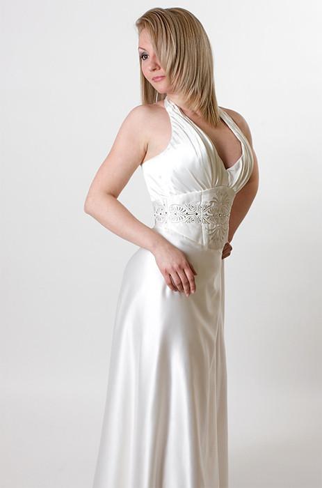 7d29ba0b2a6 Одежда и аксессуары ручной работы. Ярмарка Мастеров - ручная работа. Купить  Белое свадебное платье ...