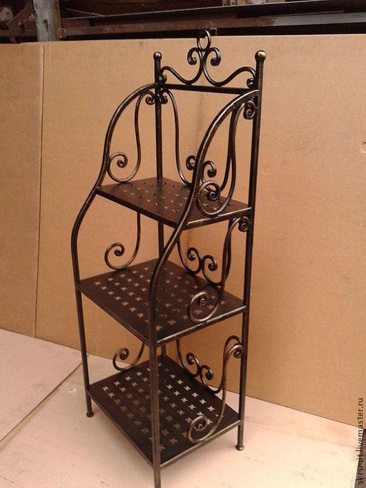 Мебель ручной работы. Ярмарка Мастеров - ручная работа. Купить Кованая этажерка. Handmade. Ковка, мебель ручной работы